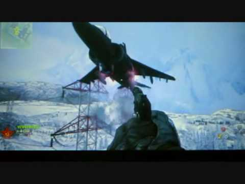 one touch production     Cod Mw2 On The harrier