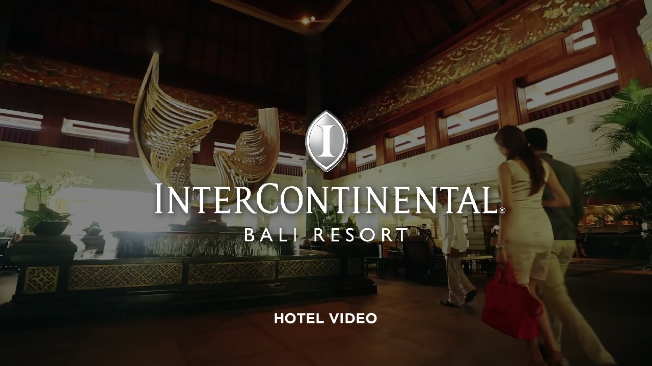 Corporate Video Intercontinental Bali Resort Videographer Youtube Voucher Hotel Jimbaran