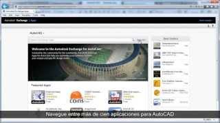 AutoCAD 2013: Autodesk Exchange Apps (Spanish)