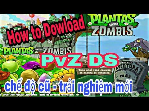 cách tải plants vs zombies 2 hack tren may tinh - Hướng dẫn tải Plants vs Zombie DS Zombie Tóc Ngố😴 #Plantsgamer#pvzds#pvz