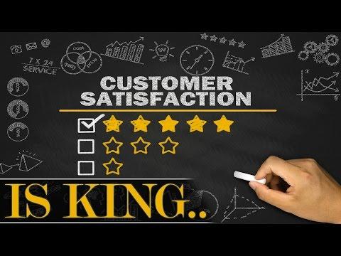 Customer Satisfaction is always KING. Always.
