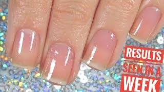 How To Grow Nails For Beginners RESULTS SEEN IN A WEEK