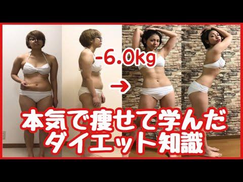 【脂肪燃焼】体重6kg痩せたビフォーアフター!ダイエット初心者が最初知っておくべきこと