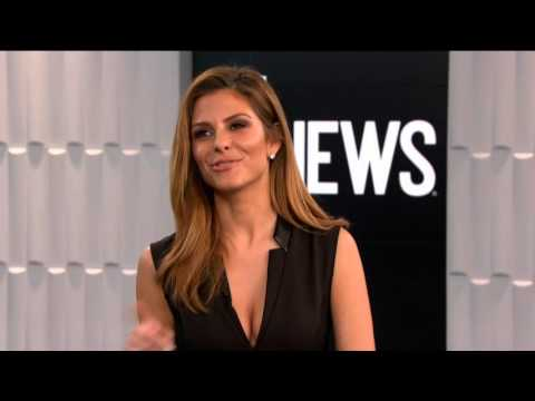Maria Menounos Interview Buzz (OTE TV)