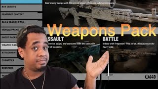 Weapons Pack - Tom Clancy