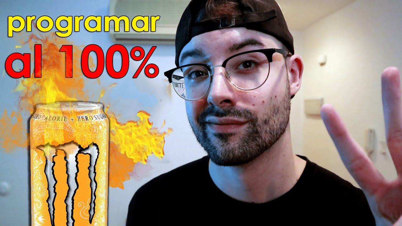CEREBRO DE PROGRAMADOR ACTIVADO X100 🔋 Bebidas energéticas para programar ¿Realmente funcionan? 🥤