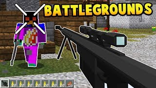 Minecraft Player Unknown Battlegrounds Server!?