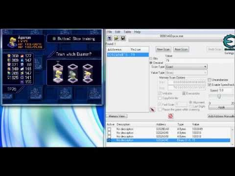 Digimon World 3/ 2003 - How to hack MONEY, EXP, TP, STATS and ITEMS using cheat engine