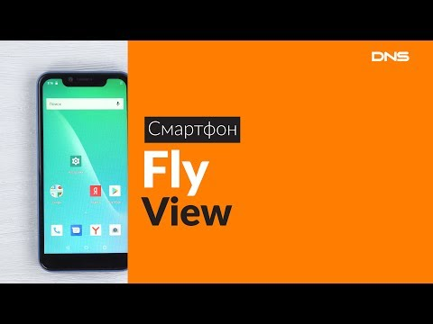 Распаковка смартфона Fly View / Unboxing Fly View