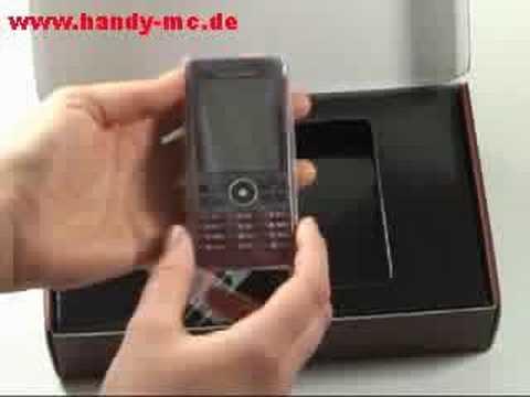 Sony-Ericsson G900 Erster Eindruck