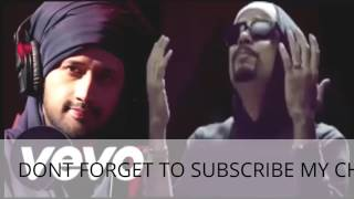 best of Atif Aslam Ve Jan Waliya ft Bohemia New Panjabi rap Song 2016 .