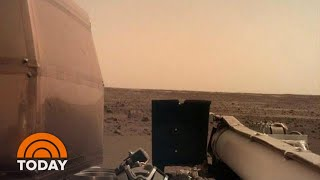 NASA's InSight Craft Lands On Mars After Nail-Biting Descent | TODAY thumbnail