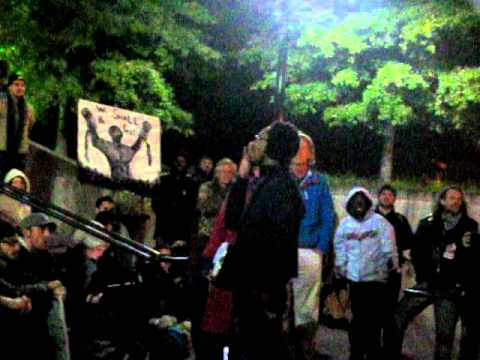 Vanderbilt College Republicans visit Occupy Nashville