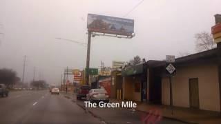 Detroit 8 mile drive Dispensary and strip club tour. Part 1