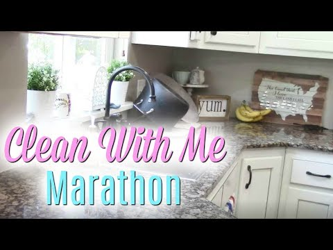 CLEAN WITH ME MARATHON /1 HOUR OF CLEANING MOTIVATION