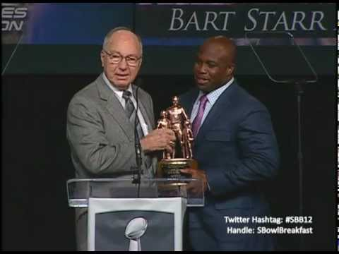 Athletes in Action Super Bowl Breakfast: Bart Starr Award