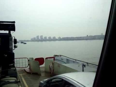 Woolwich Ferry in the truck.