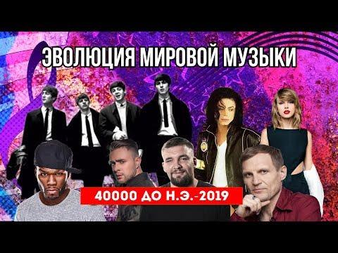 ЭВОЛЮЦИЯ МИРОВОЙ МУЗЫКИ   40000 ДО Н.Э.-2019 // EVOLUTION OF MUSIC