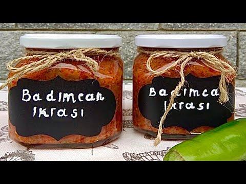 Qışlıq badımcan bibər pamidor yeməyi, yayda hazırlayın qışda rahat olun/Холодные зимние закуски