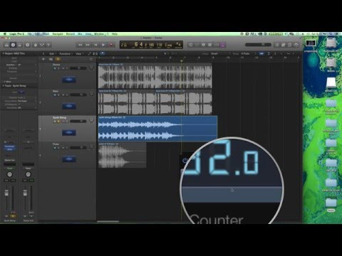 Logic Pro X - Match Loop Tempo with BPM Counter and Flex Time