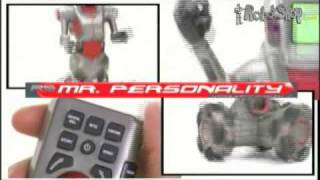 Robot Toy: Wow Wee Mr. Personality Mobile Entertainment by RobotShop.com