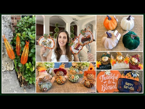 DOLLAR TREE HAUL | JACKPOT FALL DECOR (2019)