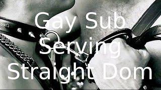 Gay Sub Seriving Straight Dom
