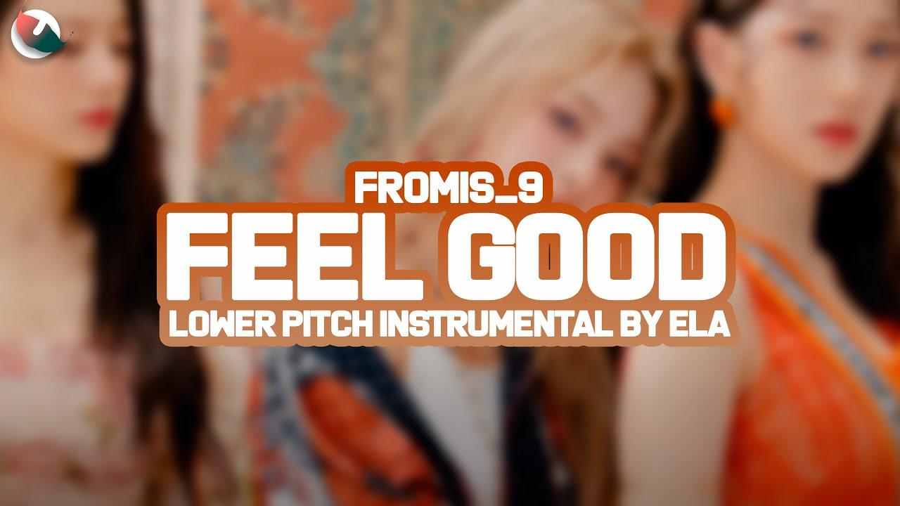 LOWER PITCH INSTRUMENTAL | fromis_9 - Feel Good (SECRET CODE)