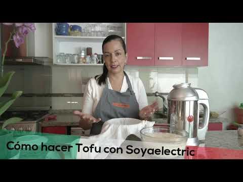 Cómo hacer tofu con Soyaelectric