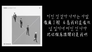 【韓中字】WINNER 위너 - FOOL ( Lyrics with hangul)