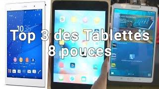 Petites tablettes 8 pouces : laquelle est la meilleure ?