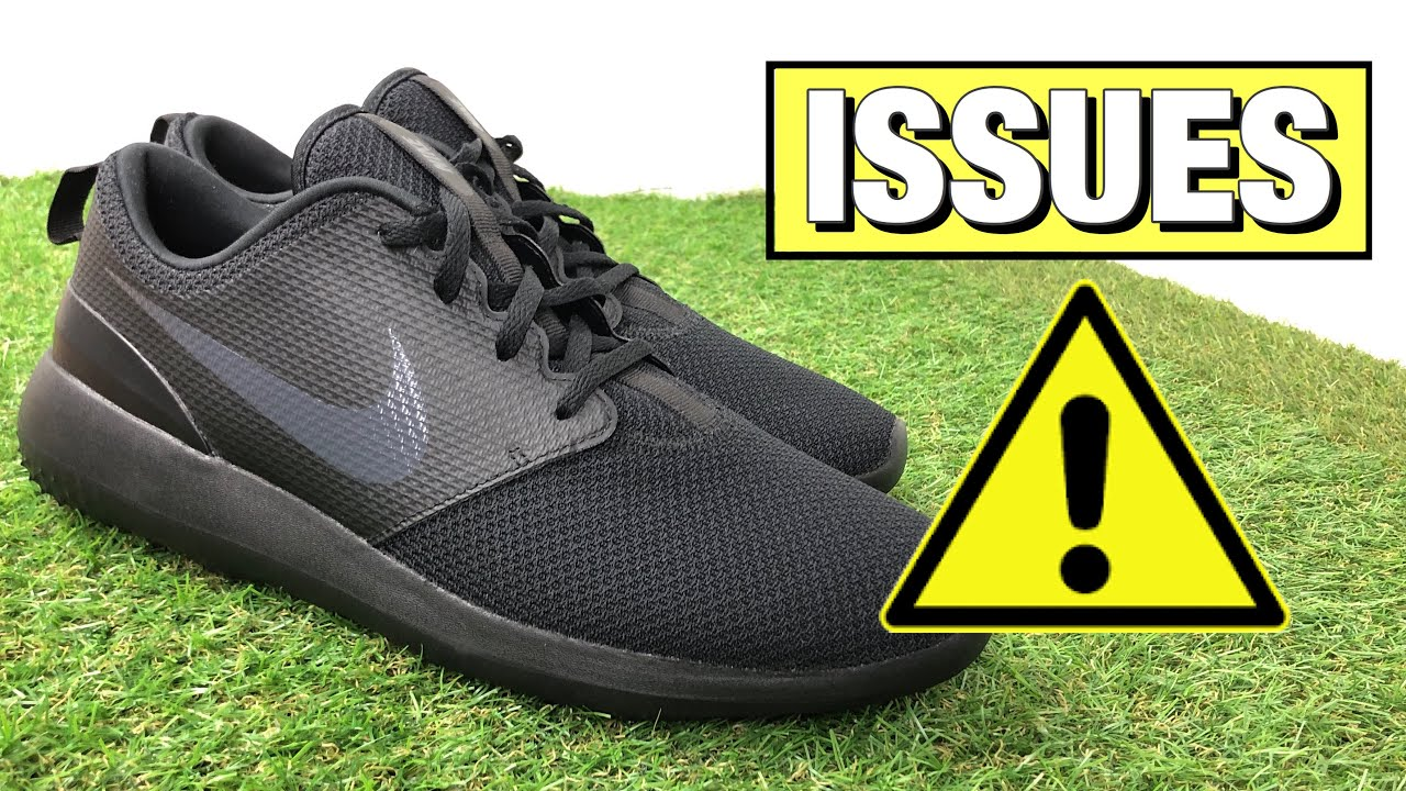 Nike Roshe G Golf Shoes Review Youtube