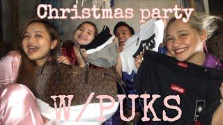 Chirstmas party na! w/PUKS