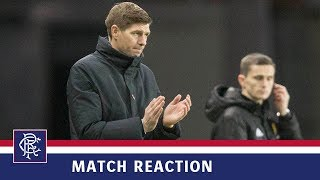 REACTION | Steven Gerrard | Rangers 7-1 Motherwell