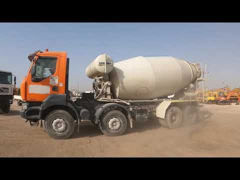 2008 Renault Kerax 380DXI 8x4 Mixer Truck - Dubai, UAE Auction   29 & 30 June