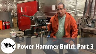 Blacksmith : blacksmith power hammer build part 3