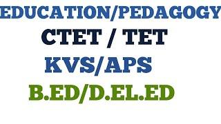 488. EDUCATION QUESTIONS,CHILD DEVELOPMENT PEDAGOGY QUESTIONS,B.ED/CTET/TET/CET QUESTIONS ENGLISH