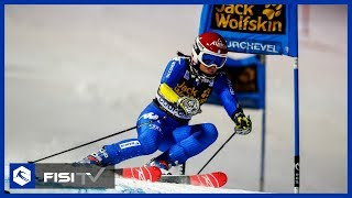 Irene Curtoni splendida 3a in PSL a Courchevel