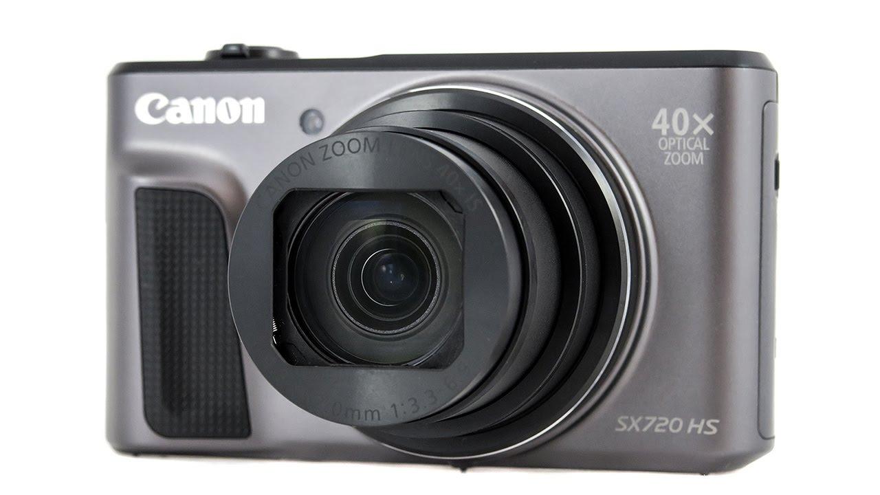 Canon Powershot Sx720 Hs Handling Review Videosamples Youtube