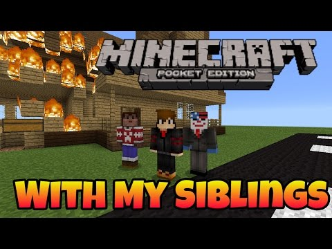 MCPE Fun Times | #5: With My Siblings | Tagalog / Pinoy