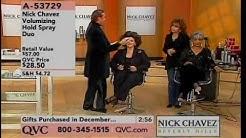 Nick Chavez falling on QVC