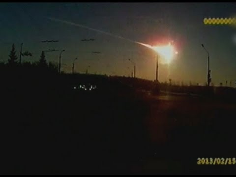 Meteor Falls in Russia, Nearly 1,000 Injured - 02.15.2013