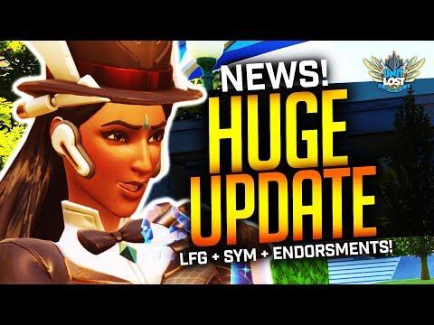 Overwatch News - LFG + Endorsements LIVE! / NEW Sym LIVE! thumbnail
