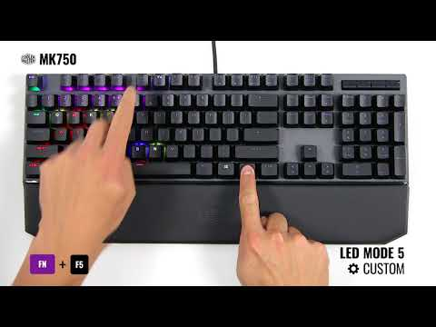 f7d116ffbc8 MK750 | How to Change LED Modes on Your Keyboard - YouTube