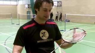 yonex z force and z force ii badminton racket review by lee clapham for pdhsports com