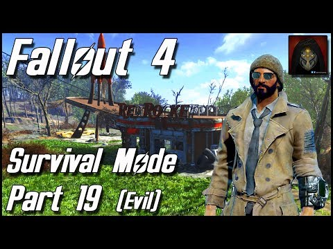 Fallout 4 | Survival Mode Part 19 - The Glowing Sea