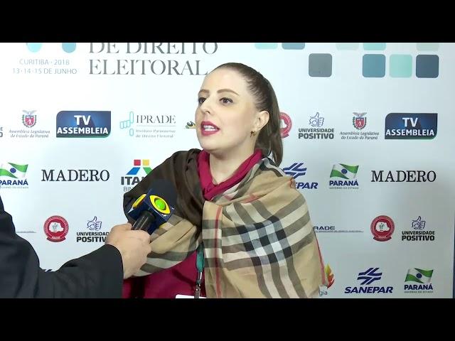 VI CBDE - Carol Clève, advogada eleitoral