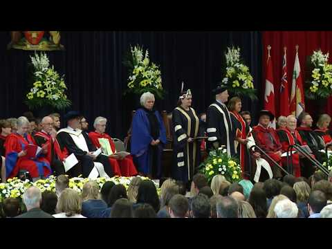 Spring Convocation 2017 – FACULTY OF EDUCATION – 2:30 PM