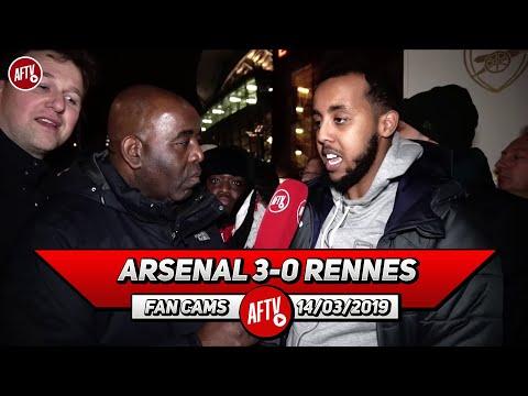 Arsenal 3-0 Rennes | The Team Spirit Is Better Than I've Ever Seen!