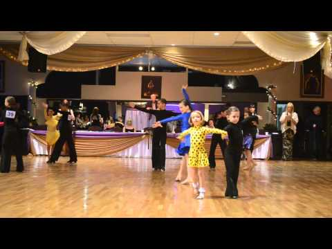 Dancesport dance classes for children in Montreal